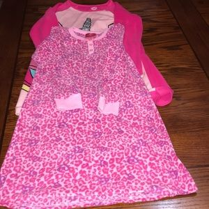Girl's Nightgowns Bundle Size M (7-8)